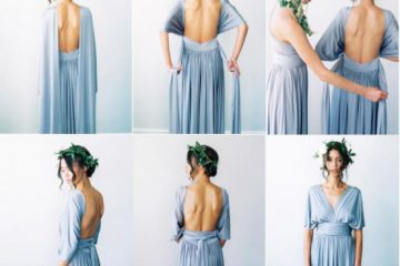 backless infinity dress styles