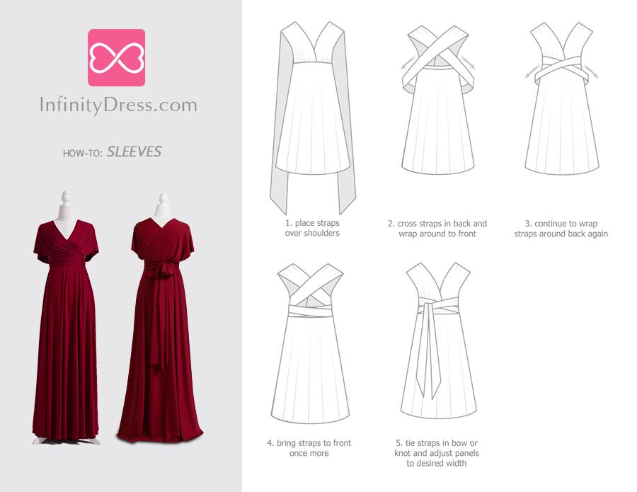 Sleeves infinity dress styles