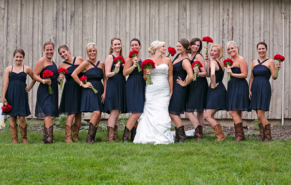 Infinity bridesmaid dress navy blue