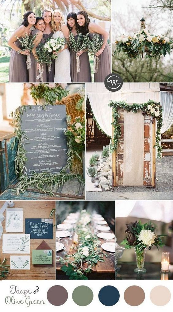 Taup wedding color