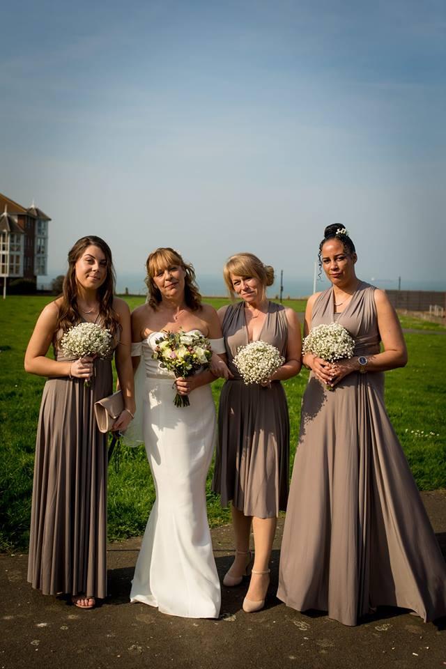 infinity dress bridesmaid