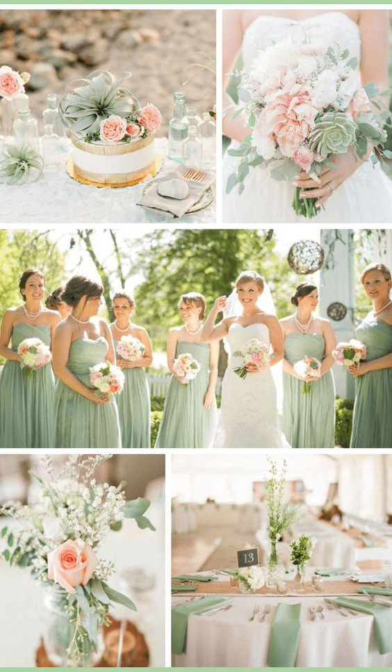 Sage wedding color