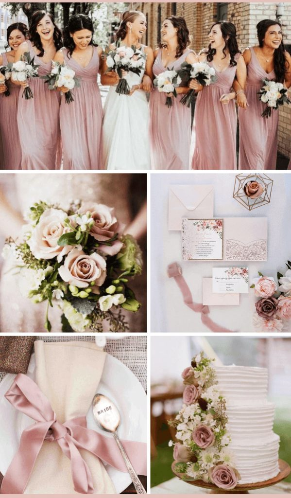 dusty rose infinity bridesmaid dress