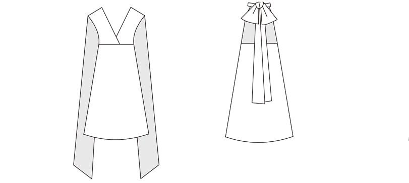 Halter bow infintiy dress styles