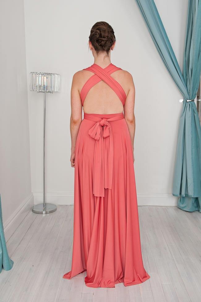 Buckle Waist Infinity Dress Style